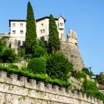 Il Castello da Piazza Podestà