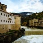 Il Leno ed il Castello dal ponte di Santa Maria