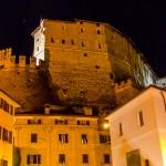 Castel Veneto di notte